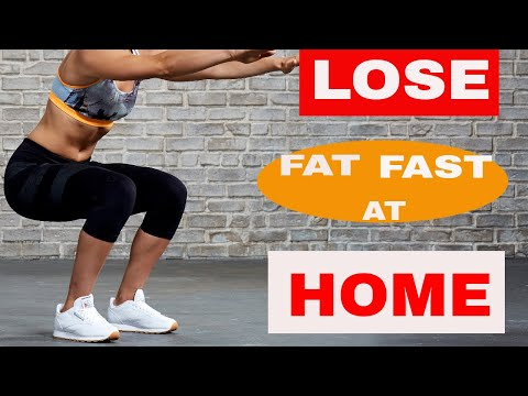 LOSE WEIGHT FAST AT HOME IN 10 DAYS | 100% WORKS