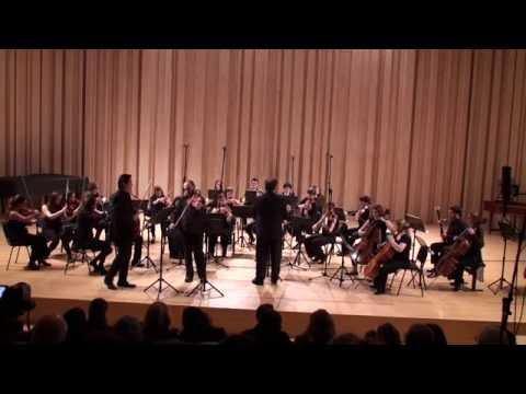 Mozart Sinfonia Concertante Bin Chao, Jean Aroutiounian Camerata GA
