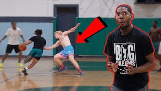 He Almost DROPPED Me Then I WENT OFF! 5v5 Basketball In Milwaukee!
