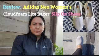 Review: Adidas Neo Women's Cloudfoam Lite Racer Slip On Shoes