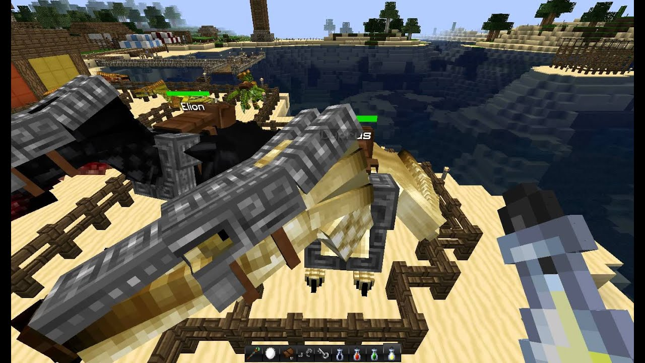 Crafted Saddle Minecraft Mo Creatures