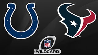 Colts vs Texans Highlights |NFL Wild Card Playoff Highlights|
