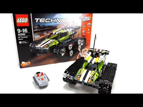 lego technic set 42065 rc tracked racer unboxing. Black Bedroom Furniture Sets. Home Design Ideas