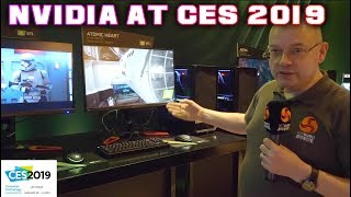 Nvidia RTX at CES 2019 - LEO CANT BELIEVE the $5K screen!