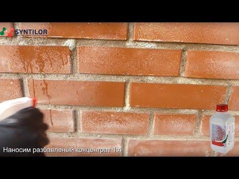 Средство для удаления высолов на кирпиче SYNTILOR Fasade