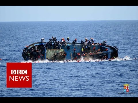 Italian captain who saved more than 500 migrants - BBC News