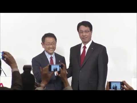 Press Conference Announcing Mazda-Toyota Partnership