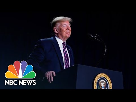 Trump Speaks After Acquittal In Impeachment Trial | NBC News (Live Stream Recording)
