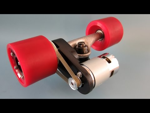 Building An Electric Longboard (part 3) - The Motor Mount.