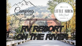 Little Arrow Outdoor (RV) Reṡort in Townsend, Tennessee campground review