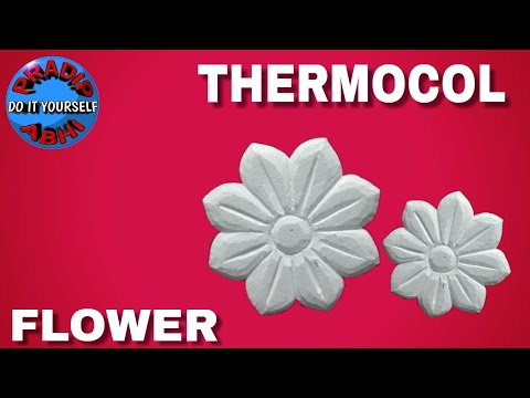 Thermocol carving done by abhi art