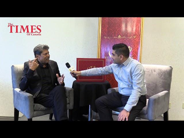 Kapil Dev's Interview by Mayur Arora