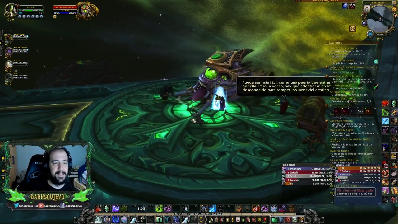 World Of Warcraft Mazmorras Míticas Dk Escarcha Farmeo De Ap