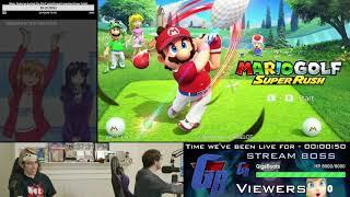 Mario Golf Multiplayer & RPG mode + Neo Turf Masters livestream