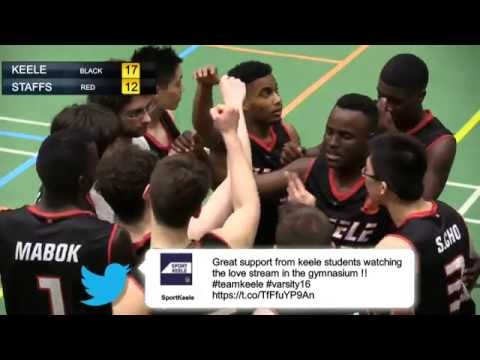 Varsity 2016: Mens Basketball 1st Half (KUBE TV Coverage)