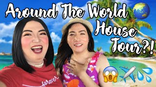 Around The World House Tour?! | GUMALA KAMI NI BIBINGCAI KAHIT MAY QUARANTINE!!!