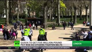 PA Direct Democracy: BBC Silent - Queen gets £5 M pay rise - a 50% increase!