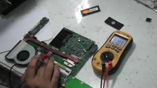 видео Не включается ноутбук Asus K52DE.Что делать?