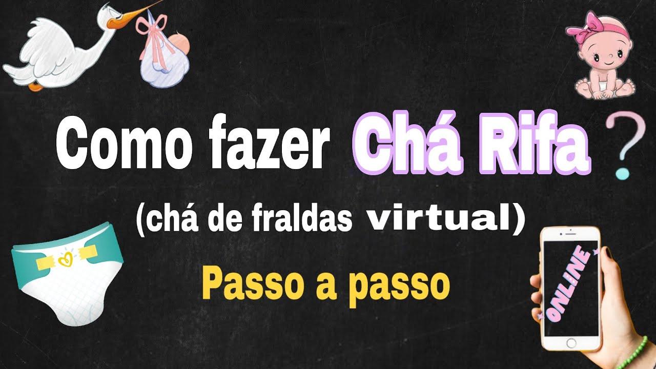 Chá Rifa   como fazer  /Chá de Fraldas virtual na quarentena