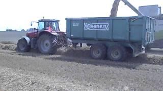 Przyczepa rolnicza Camara tandem 18 t 21m3.AVI