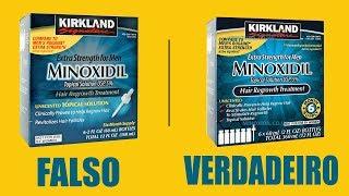 Minoxidil - Cuidado Com o Falsificado ( Cabelo, Barba ) Funciona ? Kirkland Verdadeiro ? thumbnail