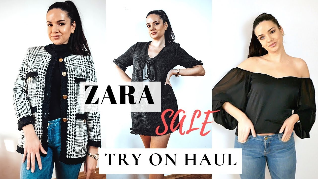 62e046e2 ZARA SALE TRY ON HAUL 2019   Winter Sale Clothing Haul – Urbanized ...