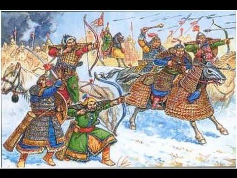 Монгольское нашествие на Русь. История 6 класс.