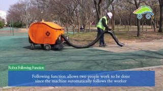 dream cng road sweeping robot