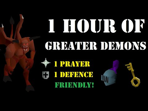 1 Hour of Greater Demons as a Pure (Wilderness Slayer) [85 ...