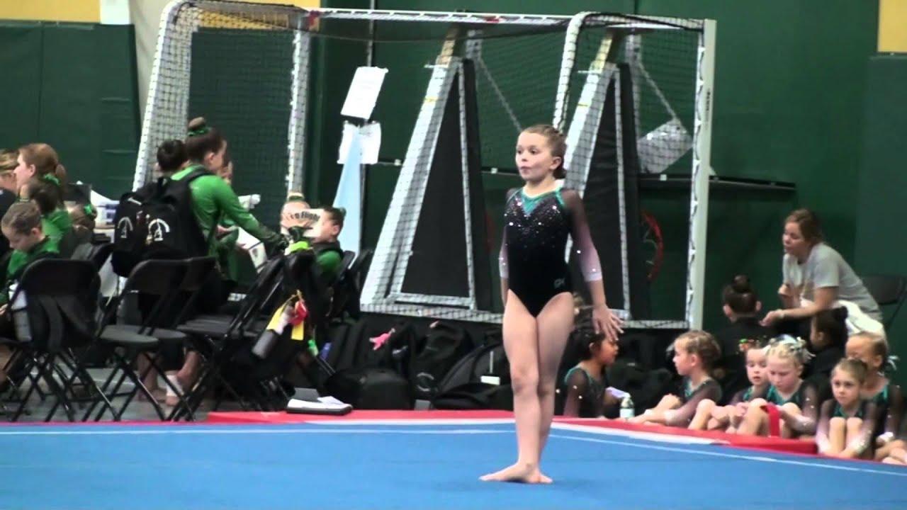Ella Rodrigues Level 3 Gymnastics Top Flight Invitational 12 5 15