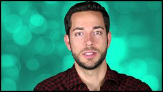 """First Date"" Flirts: Zachary Levi on Snuggies, Giant Teeth and Why He's Just Like Forrest Gump"
