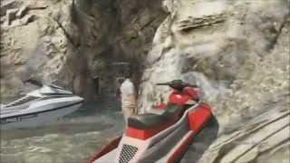 Top Secret Locations In GTA 5 Online - Dinosaurier - CargoPlane - Kampf U-Boote - Höhlen  [GER]