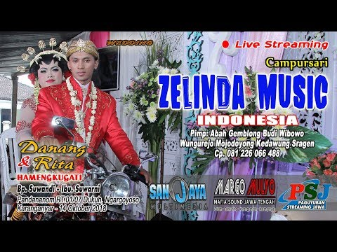 Live Streaming ZELINDA MUSIC//SANJAYA MULTIMEDIA//MARGO MULYO SOUND//14 Oktober 2018 Part 2