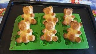 Барни домашняя выпечка(Мишки барни как выпекать в домашних условиях видео. Форма мишки поможет Вам получить красивых барни. Барни..., 2016-02-03T09:21:42.000Z)