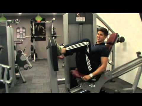 How To: Leg Press (Life Fitness Machine)