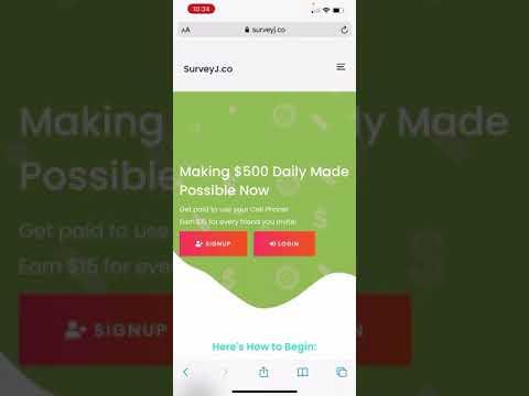 SurveyJ The Best LEGIT Way To Make Money Online