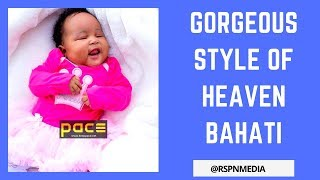 HEAVEN BAHATI ★ KEVIN BAHATI AND DIANA MARUA'S DAUGHTER ★ FLASHY AND GORGEOUS STYLE  ★ BEING BAHATI