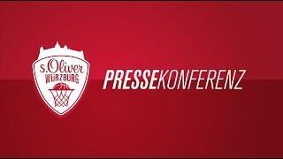 Pressekonferenz || würzburg - bamberg am 29.09.17