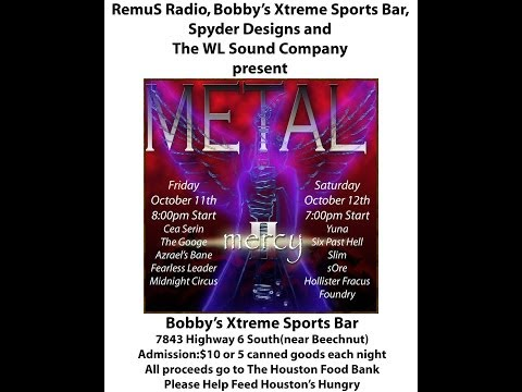 Metal Mercy II - A Benefit for the Houston Food Bank