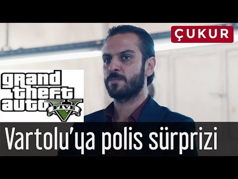 Çukur Vartolu'ya polis sürprizi | Gta 5