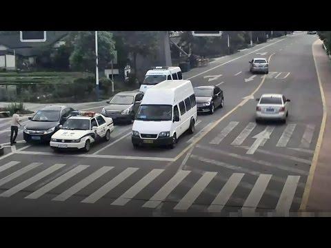 Police car's 'green light escort' for poisoned girl