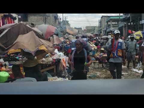 Market Street, Port au Prince, Haiti