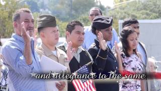 Oath of Allegiance - Constitution Week 2013