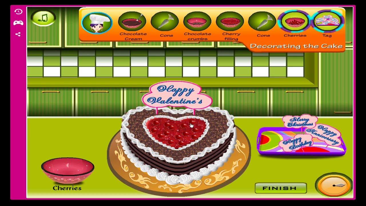 Sara Cooking Cake Games