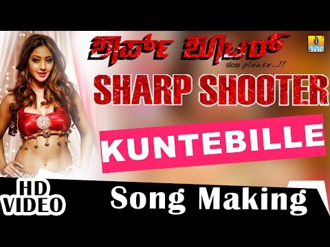 Kuntebille Song Making | 'Sharp Shooter' Kannada Movie | Diganth, Aindritha Ray