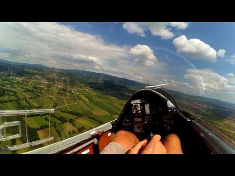 Cirrus Std. take off, Bosnia and Herzegovina.