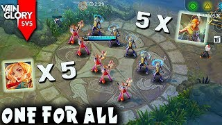 [Vainglory] One For All - 5 Gwen vs 5 Vox