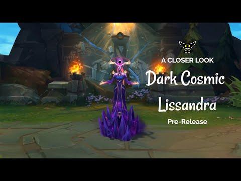 Dark Cosmic Lissandra Epic Skin (Pre-Release)