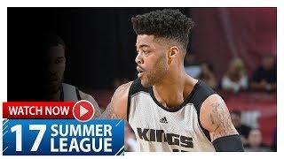 Frank Mason III Full Highlights vs Lakers (2017.07.10) Summer League - 24 Pts, 6 Ast, 5 Reb