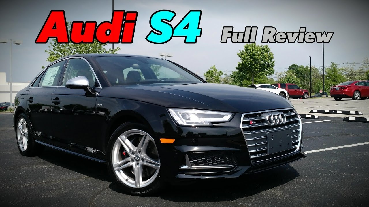 2018 Audi S4 3 0t Sedan Full Review Prestige Premium Plus Youtube